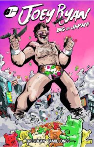 Joey Ryan, Big in Japan, Chiodo Comics Kickstarter campaign video, April 2017