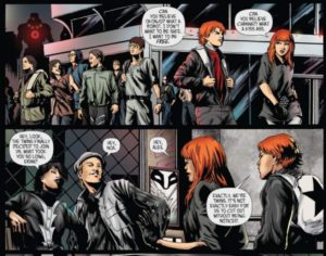 KISS #1, Dynamite Comics, Amy Chu & Kewber Baal