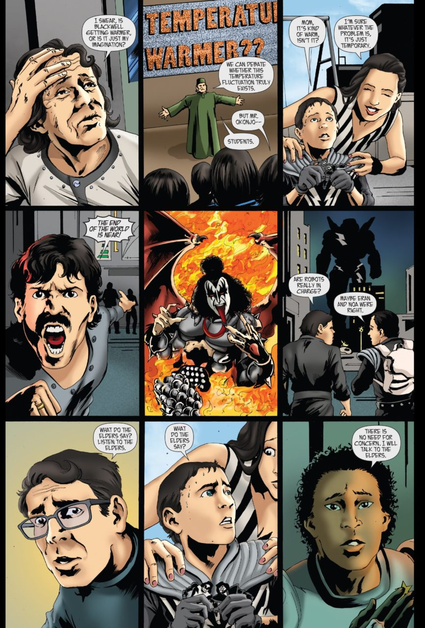 You Really Don't Need to be a Fan of KISS to read KISS: The Comic