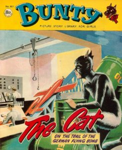 Bunty The Cat cover, DC Thompson