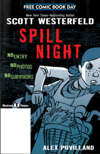 Spill Night Cover courtesy First Second