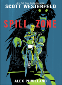 Spill Zone Cover Courtesy First Second
