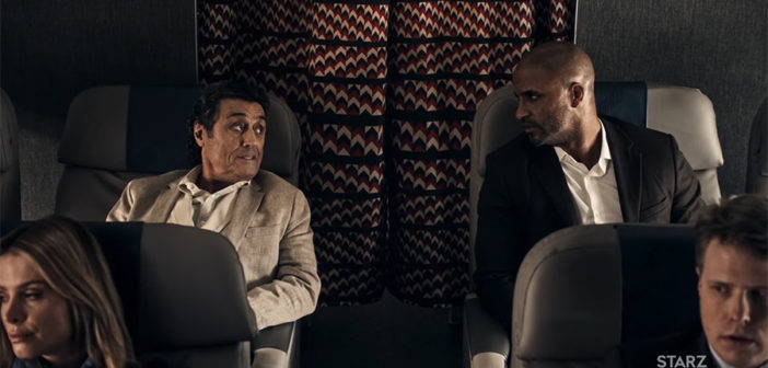 Shadow Moon and Mr. Wednesday - American Gods - Starz 2017