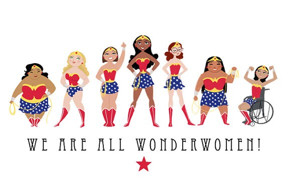 """We Are All Wonder Women"" by Catherine and Sarah Satrun"