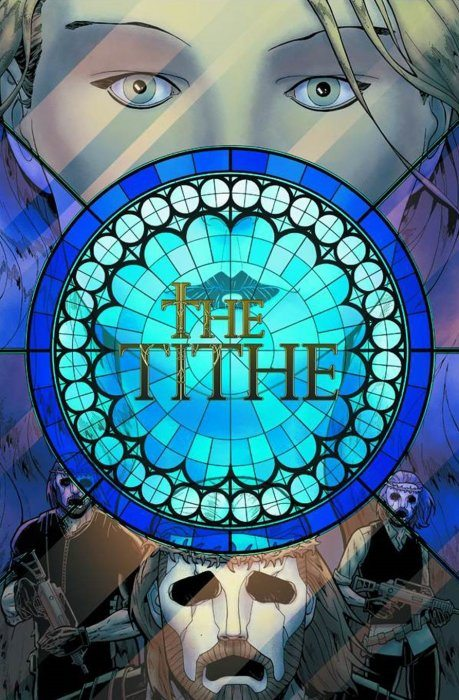The Tithe #1 cover, Top Cow, Betsy Gonia, colorist, Matt Hawkins, writer, Rahsan Ekedal, artist & cover, Tricia Ramos, production, Troy Peteri, letterer, William Farmer