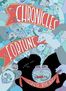 Chronicles of Fortune Full Cover via Radiator Comics