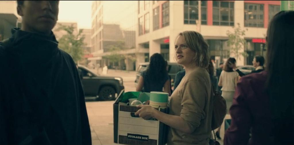 Elisabeth Moss, Eyes - The Handmaid's Tale - Hulu 2017