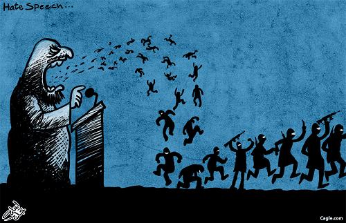 """""""Hate Speech"""" by Osama Hajjaj"""