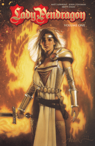 Lady Pendragon volume 1, Top Cow, Matt Hawkins, John Stinsman, Brett Evans, Image Comics 2016. Drew Struzan cover