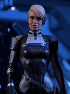 Mass Effect: Andromeda Cora. BioWare. Electronic Arts. 2017.