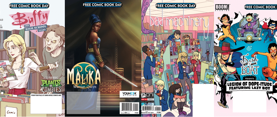 A Guide to Free Comic Book Day 2017