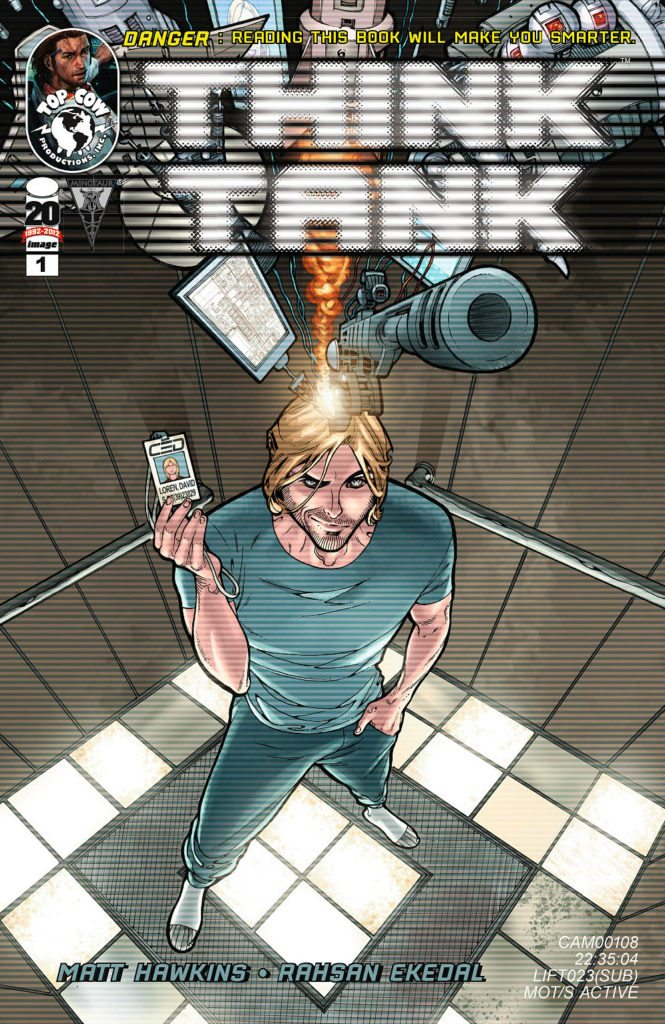 Think Tank #1 Cover, Top Cow, Rahsan Ekedal & Matt Hawkins, 2012