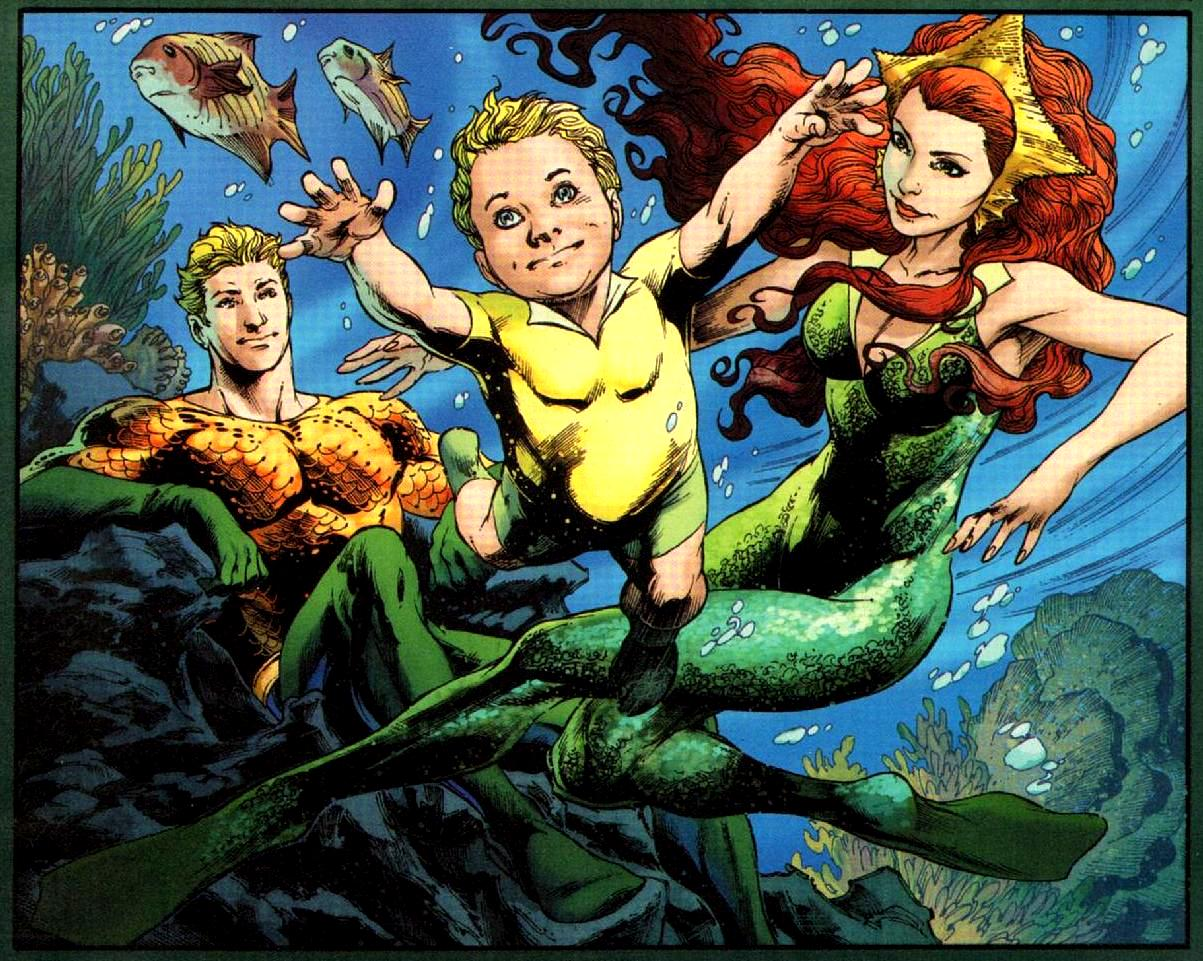 DADDY ISSUES #5: Aquaman Can Talk to Fish But He Can't Raise a Kid
