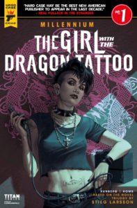 Girl with the dragon tattoo, Titan comics, 2017