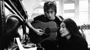 John Lennon and Yoko Ono, 1971. Photographer unknown.