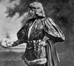 Sarah Bernhardt as Hamlet, 1899 - The Adelphi Theatre