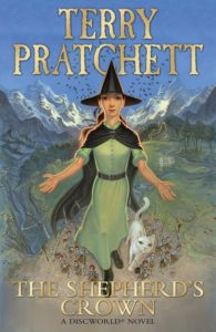 The Cover of The Shepherd's Crown by Terry Pratchett. Published by Doubleday, 2015. Crown
