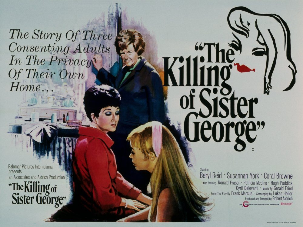 Theatrical poster of The Killing of Sister George