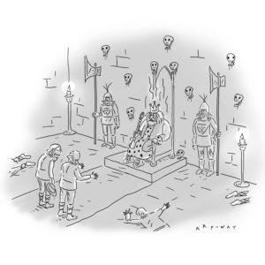 """Pig Latin King,"" Kim Warp. The New Yorker."