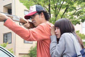Yo Oizumi, Kasumi Arimura - I Am a Hero - Toho 2016