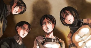 Attack on Titan volume 21 cover. Art by Hajime Isayama. Kodansha.