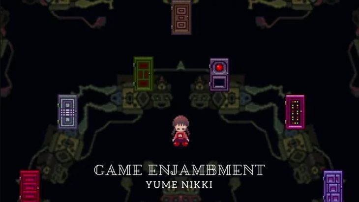 Game Enjambment: Waking Up in the Nexus [GIF] (Yume Nikki)
