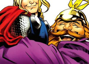 Thor: the Mighty Avenger by Chris Samnee, colours by Christina Strain