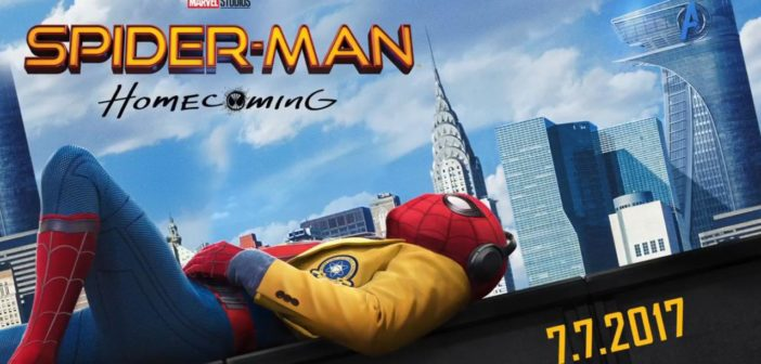 Spider-Man Homecoming poster, Marvel Films, 2017