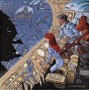 Valerian and Laureline, by writer Pierre Christin and artist Jean-Claude Mézières
