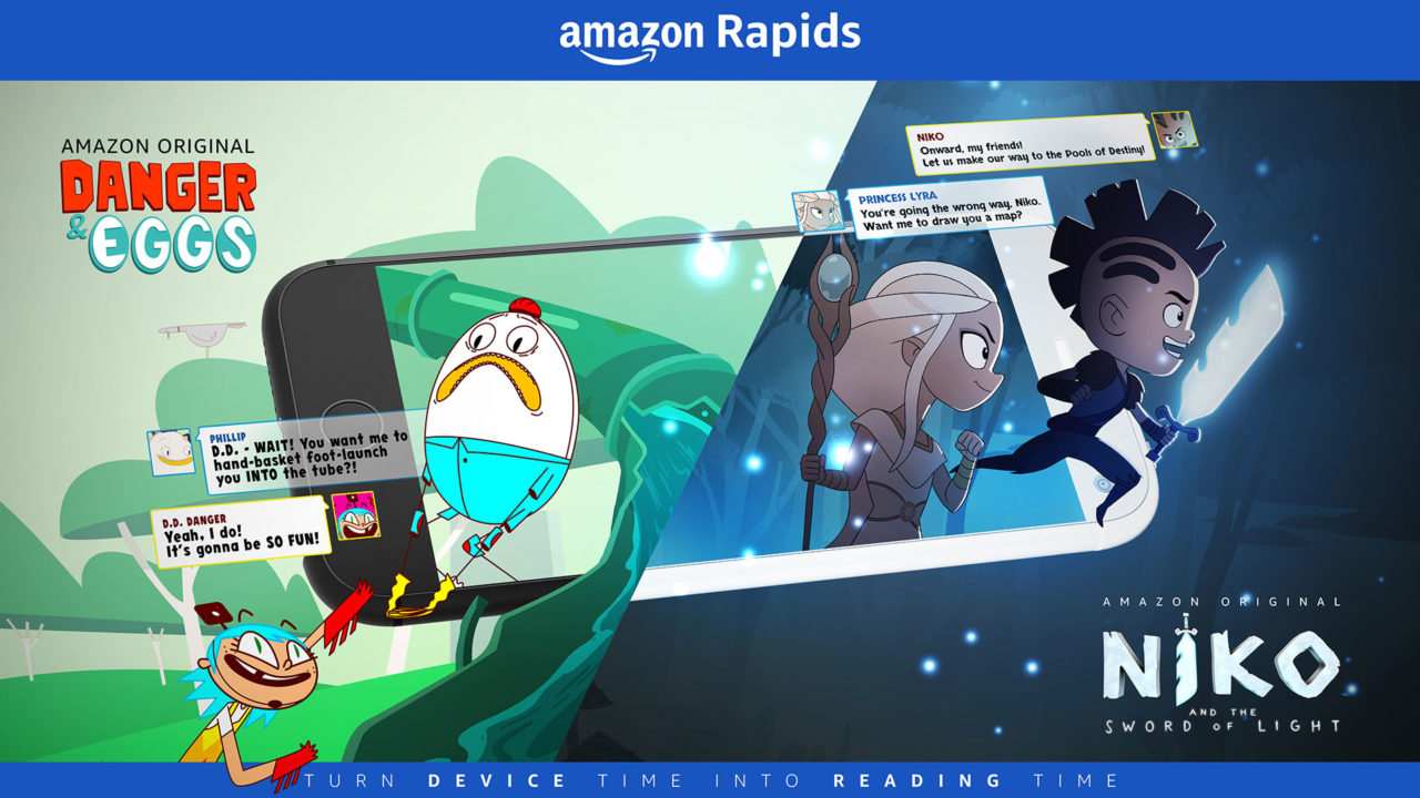 Amazon Rapids: A Mobile App That Gets Kids Reading