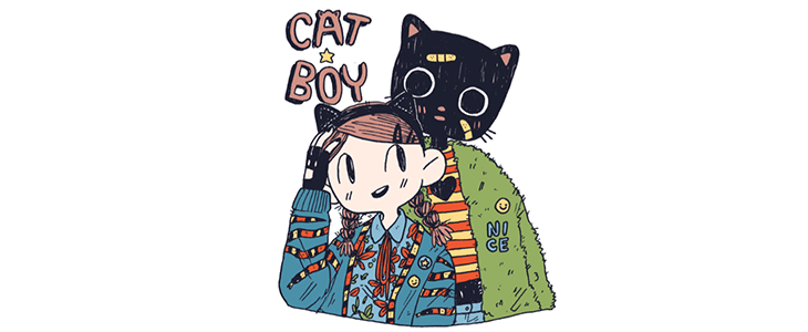 A Tail of Two Cat Lovers: Two Takes on Benji Nate's Catboy