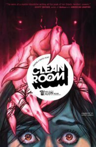 Clean Room #1, cover by Jenny Frison, published by Vertigo. 2017.