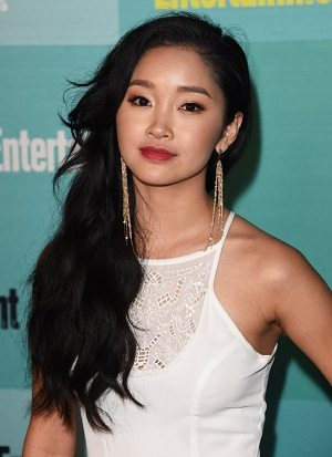 Lana Condor. Photography by Jason Merritt. Image courtesy of Getty Images.
