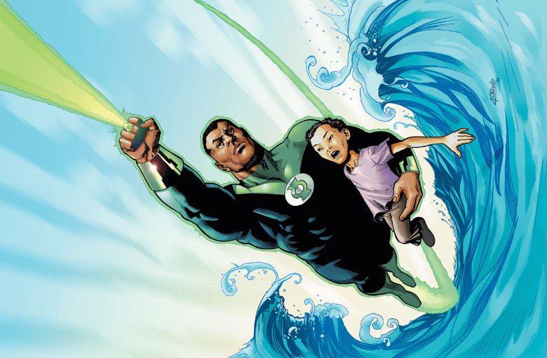John Stewart, Green Lantern Vol 3 #156, Ariel Olivetti, DC Comics, 2003