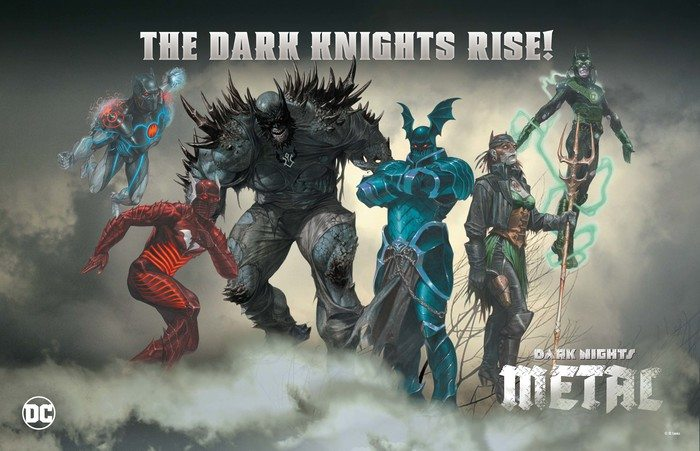 Red Death and Murder Machines, First Look At Dark Knights