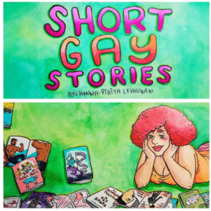 Short Gay Stories cover image via Cow House Press