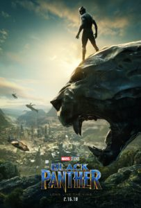 Black Panther release poster