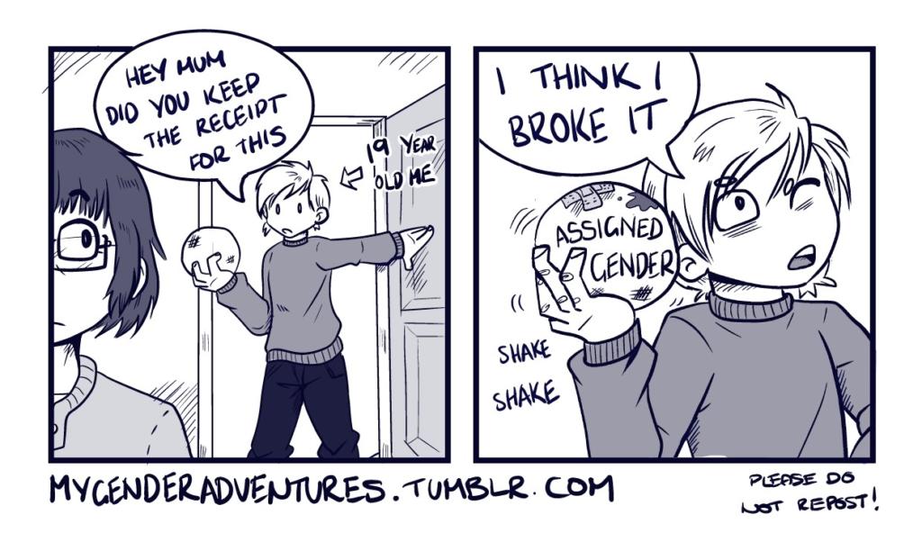 """""""My Gender Adventures"""" by Jams (JammyScribbler)"""