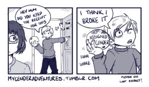 """My Gender Adventures"" by Jams (JammyScribbler)"