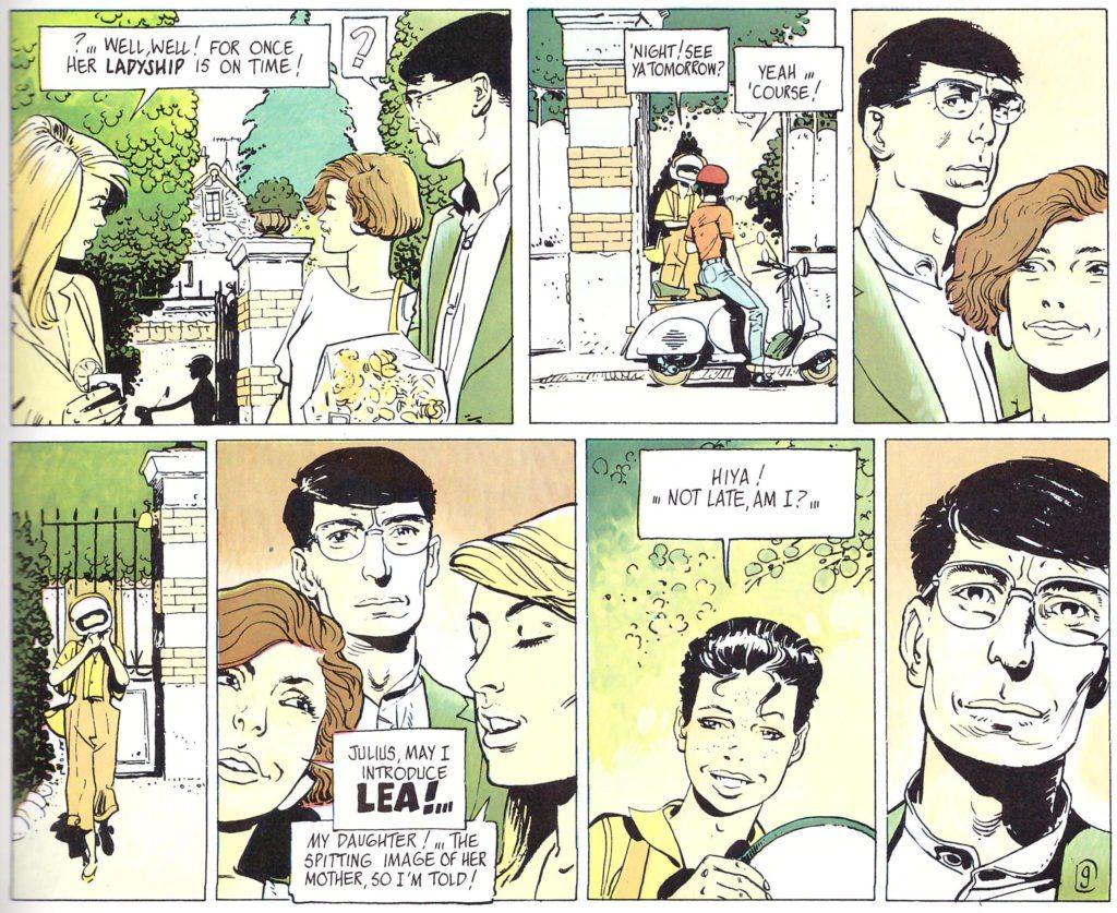 Lea: The Confessions of Julius Antoine, Le Tendre, Rossi, Fantagraphics