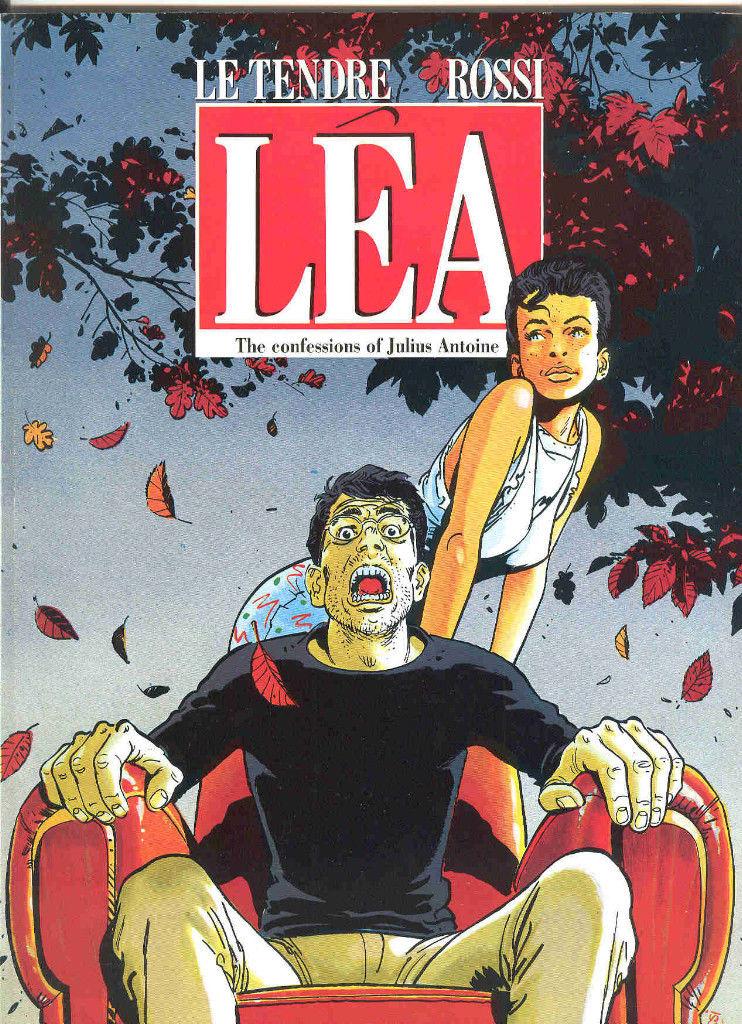 Lea & Julius Antoine: A 1980s French Comic About Ephebophilia