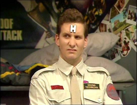 Arnold J Rimmer, Chris Barrie, Red Dwarf, BBC 2, 1988