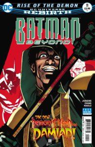Batman Beyond 11 - DC Comics - Bernard Chang and Marcel Maiolo