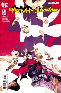 Batman/The Shadow 5 - DC Comics - Riley Rossmo