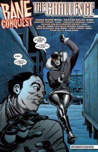 Bane: Conquest #4: written by Chuck Dixon, art by Graham Nolan