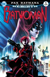 Batwoman #6 - DC Comics - Eddy Barrows