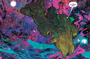 Black Bolt #1, written by Saladin Ahmed, art by Christian Ward. Marvel. 2017.