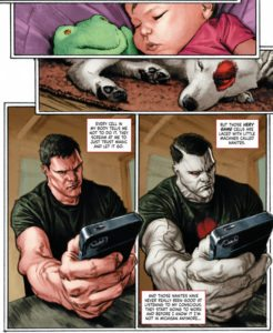 Bloodshot Salvation #1, Jeff Lemire & Lewis LaRosa and Mico Sayan, Valiant, 2017