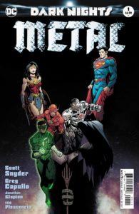 Dark Nights: Metal #1 - DC Comics - Capullo and Glapion