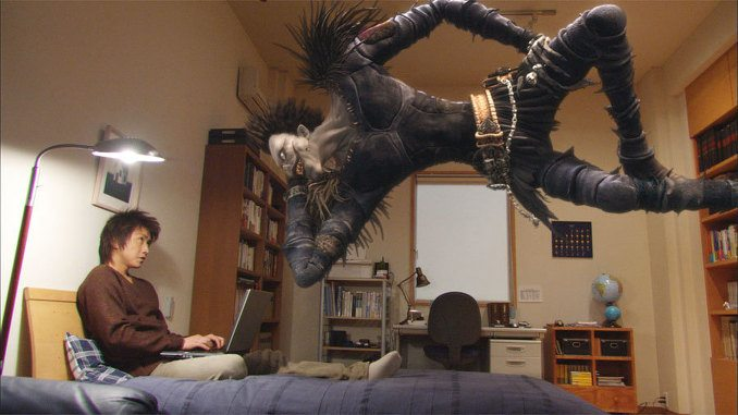 Ryuk and Yagami Light in 2006 Death Note